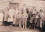 Familias Calfupan / Acuipil, ocupantes del Lote 134 en las décadas de 1920/1930. Antepasados de Doña Uberlinda, la esposa de Mauricio Fermín