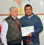 Concejal Jorge Paz y el fotógrafo Andrés Campos