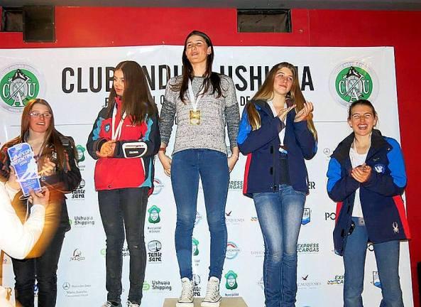 Renata Guereña campeona nacional y Francisca Guereña cuarta