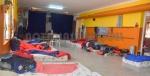 Pasillos de la escuela N° 25 de Villa Lago Futalaufquen