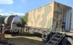 Camión con caldera y duchas