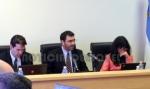 Tribunal integrado por Criado; Zacchino y Rodriguez