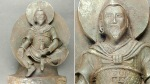 Estatua budista en el Tíbet hecha de un meteorito