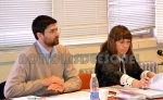 Lisandro Gonzales y a fiscal Revori
