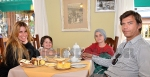 Disfrutaron el Té Gales en familia
