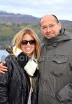 Junto al Secretario de Turismo