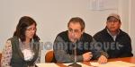 Susana Perez, Bruno Deias y Martiniano Jones Huala