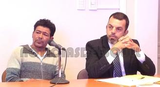 Ibáñez y el Defensor Público Marcos Ponce